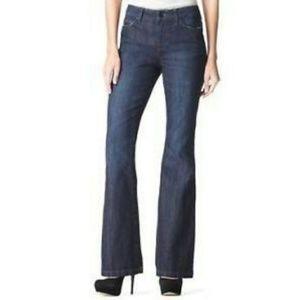 DKNY Jeans 14 MEDIUM WASH stretch boot cut